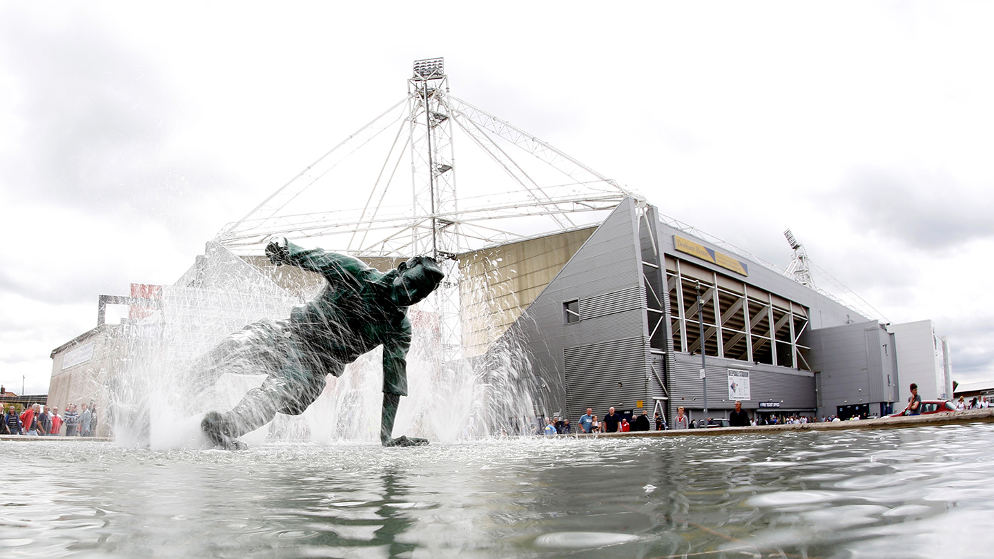 The Splash statue