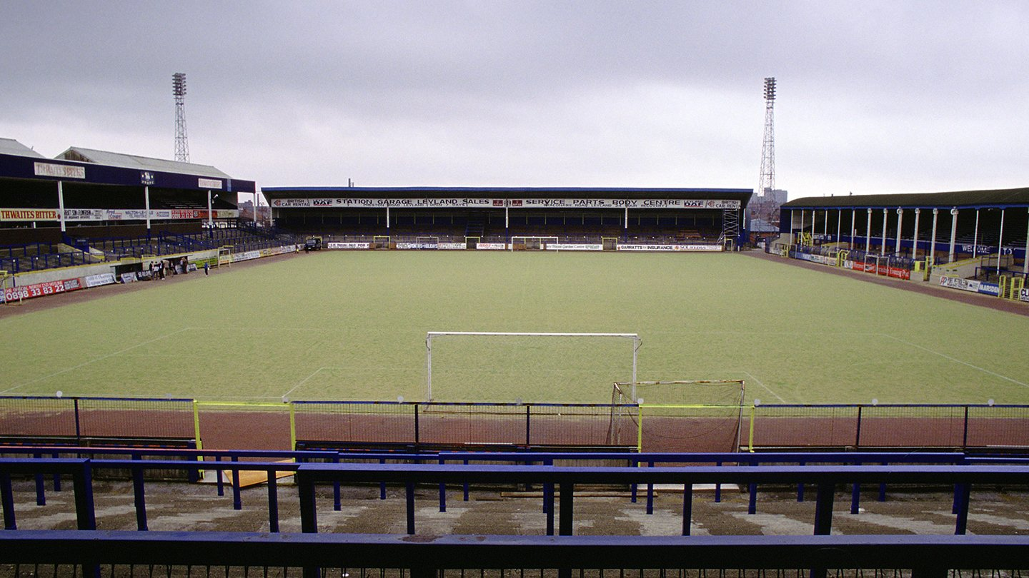 Deepdale with its plastic pitch