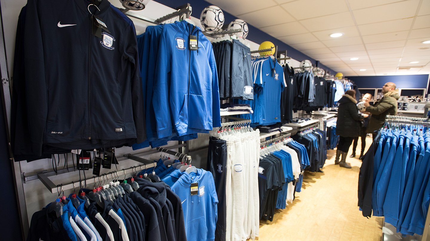 Inside Club Shop