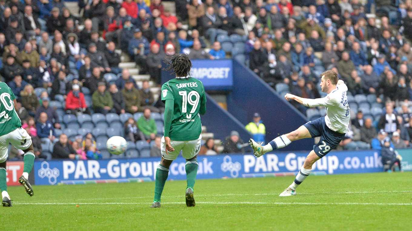 Goals from Sean Maguire and Tom Barkhuizen saw the Lilywhites twice come from behind, but ultimately lost their first home game of the season against Brentford.        Maguire returned from injury to score a stunning goal just before half-time, running from half way to level Nico YennarisÂ' opener,...