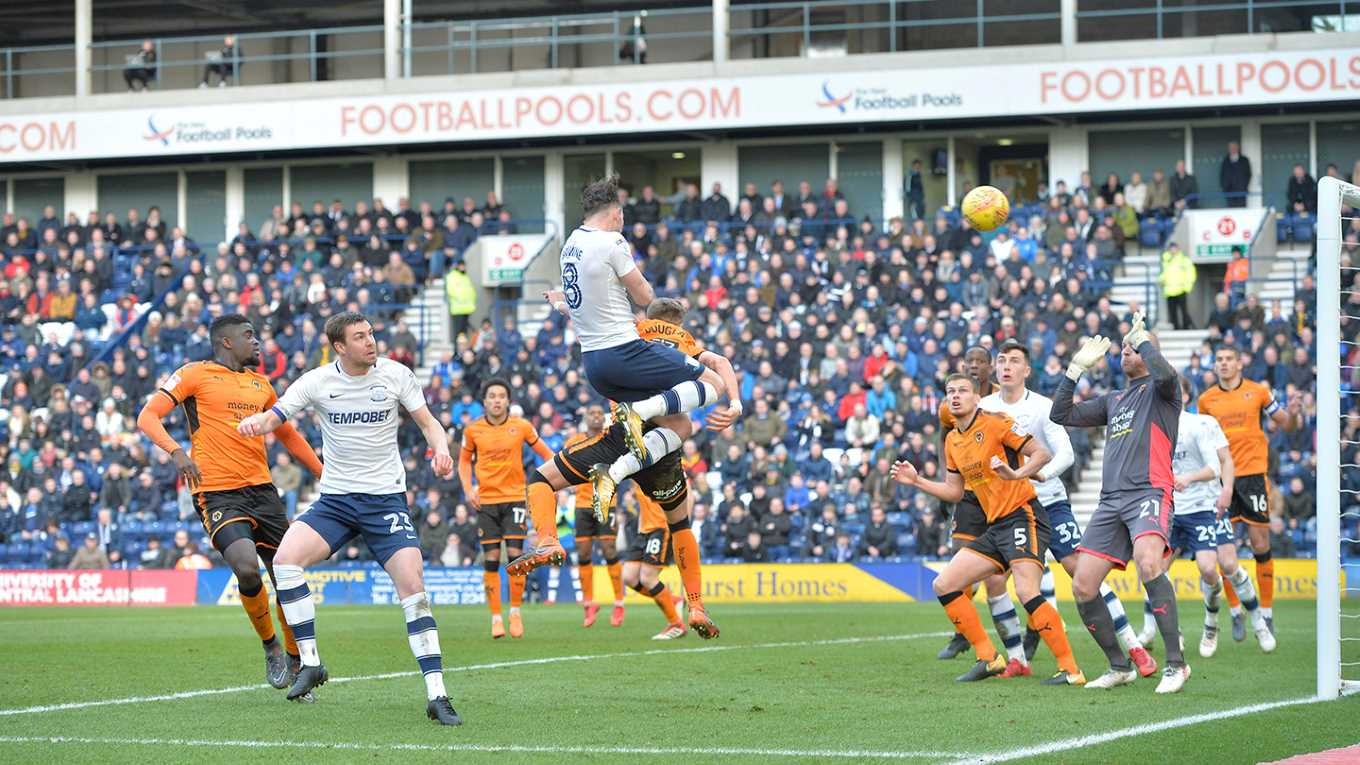 North End had to play with ten men for 35 minutes for the second week in a row, but claimed a point against high-flying Wolves at Deepdale.        Alex NeilÂ's Lilywhites extended their record to just one defeat in the last 16 Championship games, with Alan Browne putting them ahead shortly after...